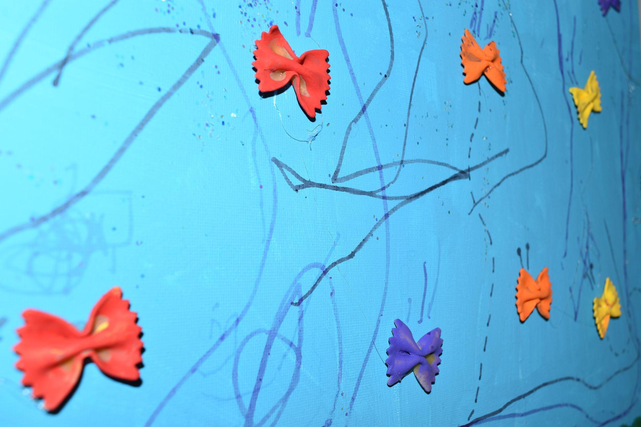 tableau-farfalle-detail